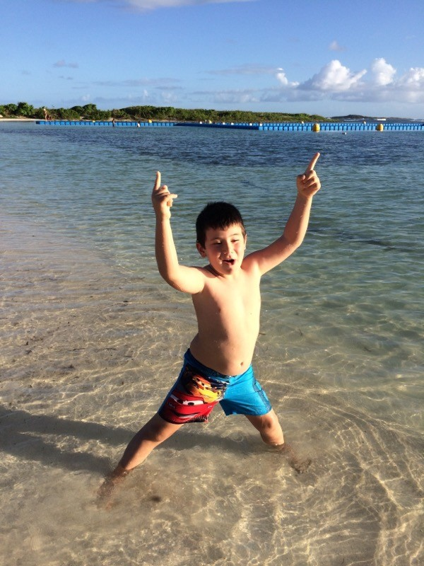 Lorenzo, 5 years old in Sint Maarten F.W.I. 2014  (PJ7)