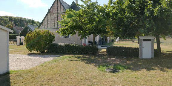 Jardin du gîte mamélie