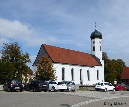 Maierhöfen, Kath. Pfarrkirche St. Gebhard