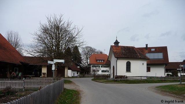 Kapelle in Nieratz