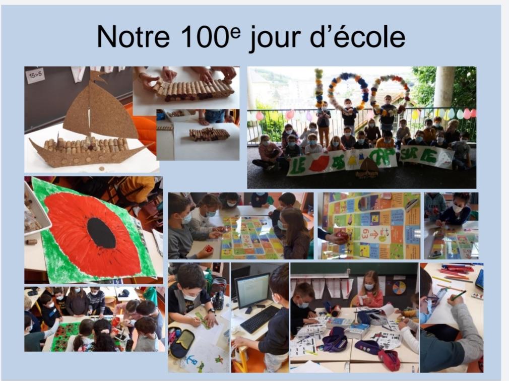 100è jour d'école