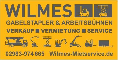 WIlmes Mietservice, Siedlinghausen