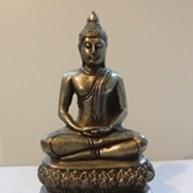Buddha in der Yogaschule