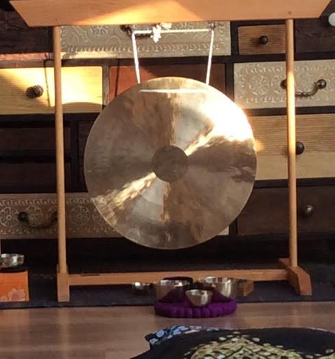 wunderbarer Sonnen-Gong