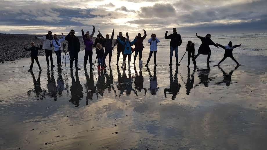 Visite des phoques en famille en baie de Somme