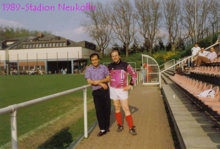 1989 mit Hüseyin Cay