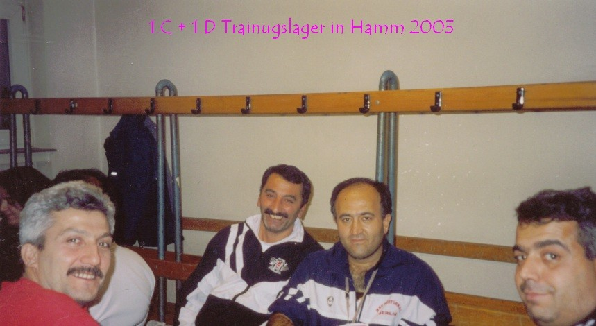 Trainingslager  Hamm 2003