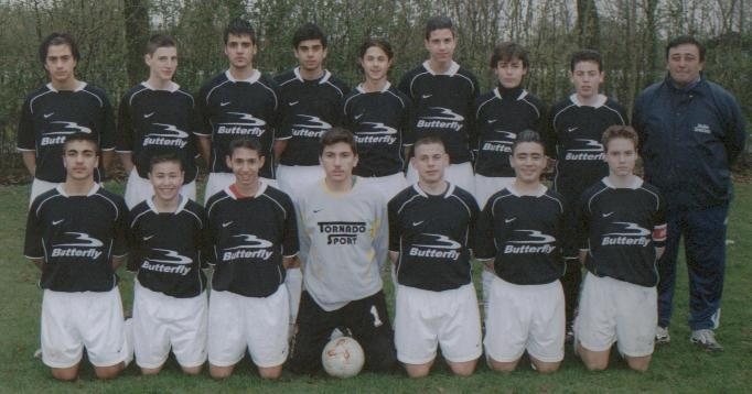 1.C Jugend Saison 2003/04 als 1.C in Holland