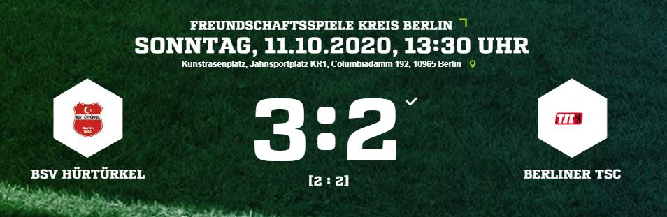 1. Herren: Sieg gegen den Berliner TSC