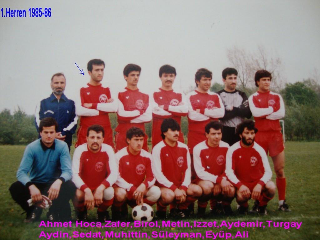 1. Herren 1985/86