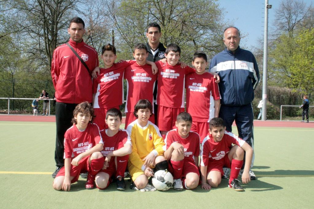 Ostern 2009 mit der 2.D Jugend