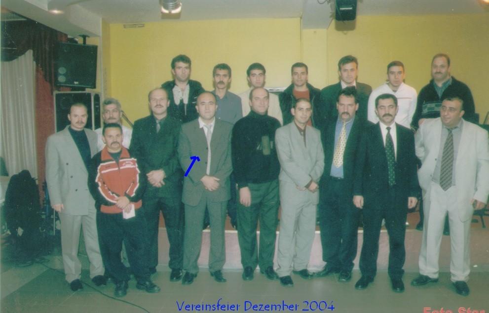Vereinsfeier in 2004