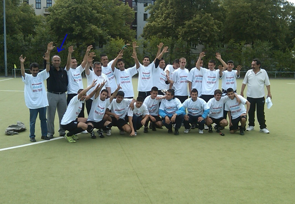 2.B Jugend 2008/2009 Aufstieg in die Verbandsliga