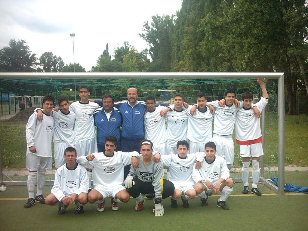 2.B Jugend Saison 2004/05 - Aufsteiger in die Landesliga
