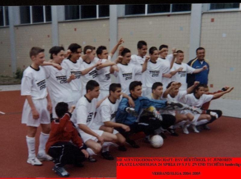 1.C Jugend Saison 2003/04 - Aufsteiger in die Verbandsliga