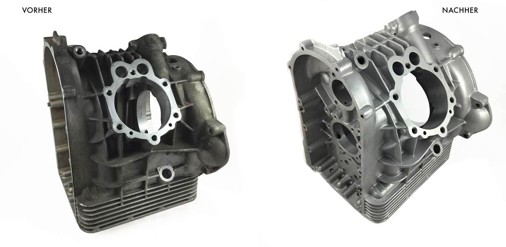 Motorbike, Moto Guzzi, Engine case L/H
