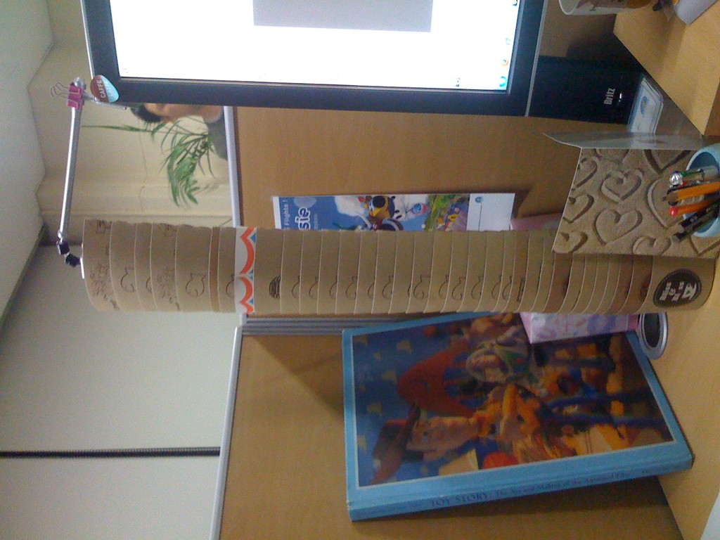 My Coffee Paper Tower (I needed less than a month)