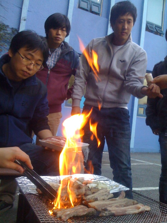 Korean Flame Style BBQ