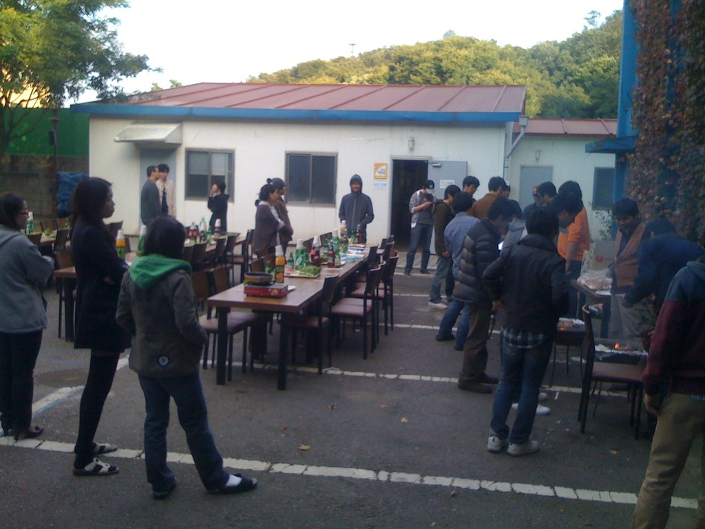 The End Of Summer BBQ. It is served for all companys located in the Animation Center