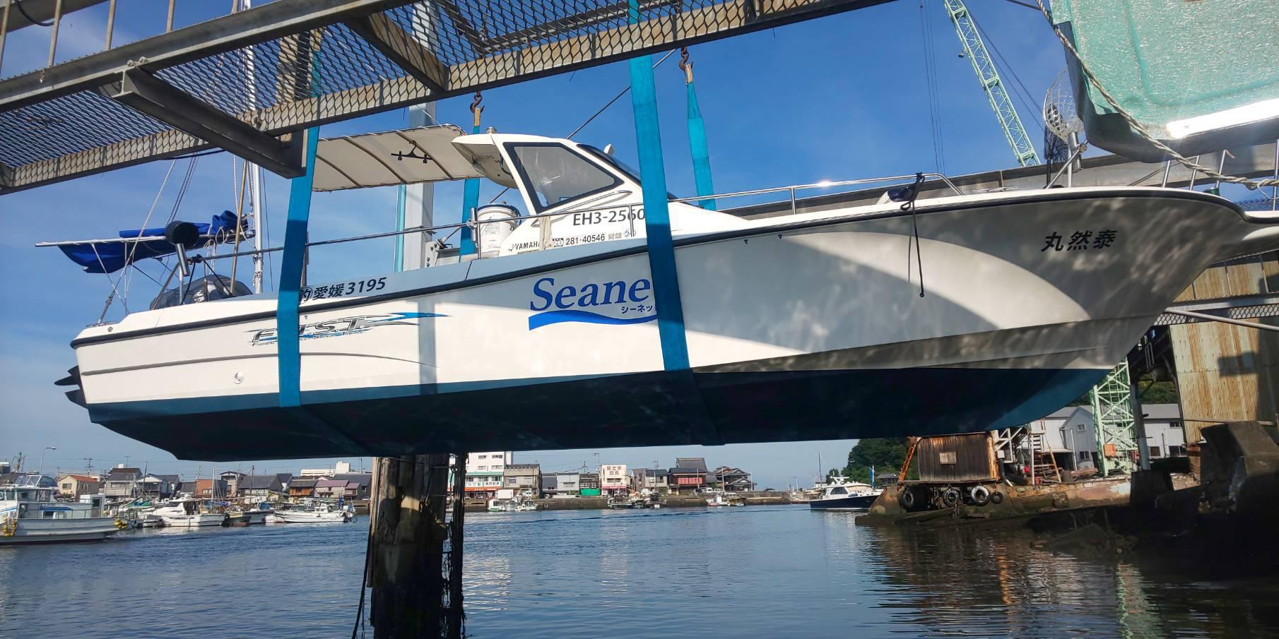 7月21日 船底塗装完了