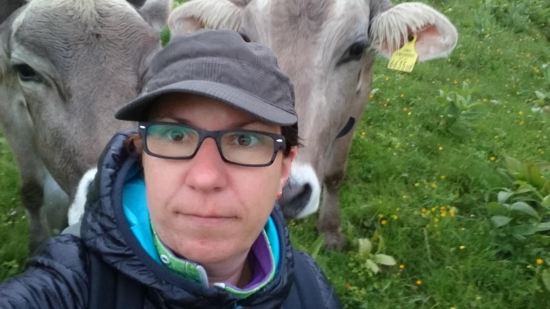 Selfie mit Steffi und Klara