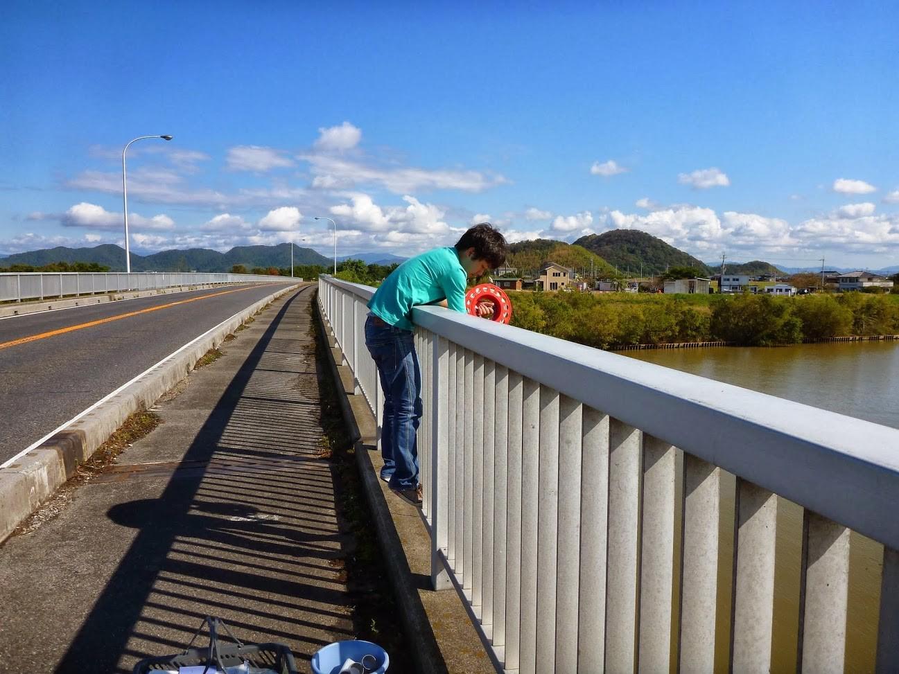 河川観測(琵琶湖流入河川)