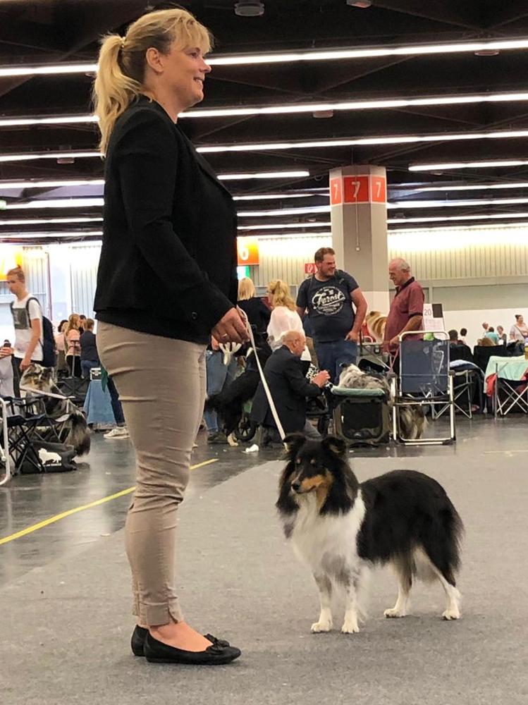 EmilyErdbeer erreicht in Nürnberg am 13.7.2019 unter Richter Rolf Blessing ein tolles V2!