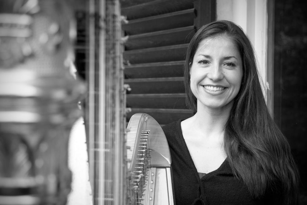 Sarah Cocco, Harfenistin - München
