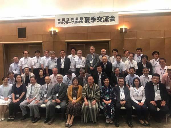 2017年大田区異業種交流グループ連絡会夏季交流会
