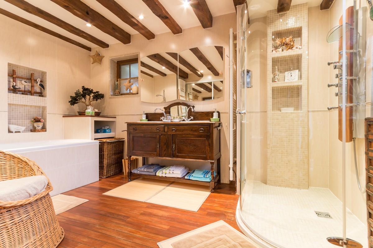 Salle de bain suite  Ô Soleil Levant