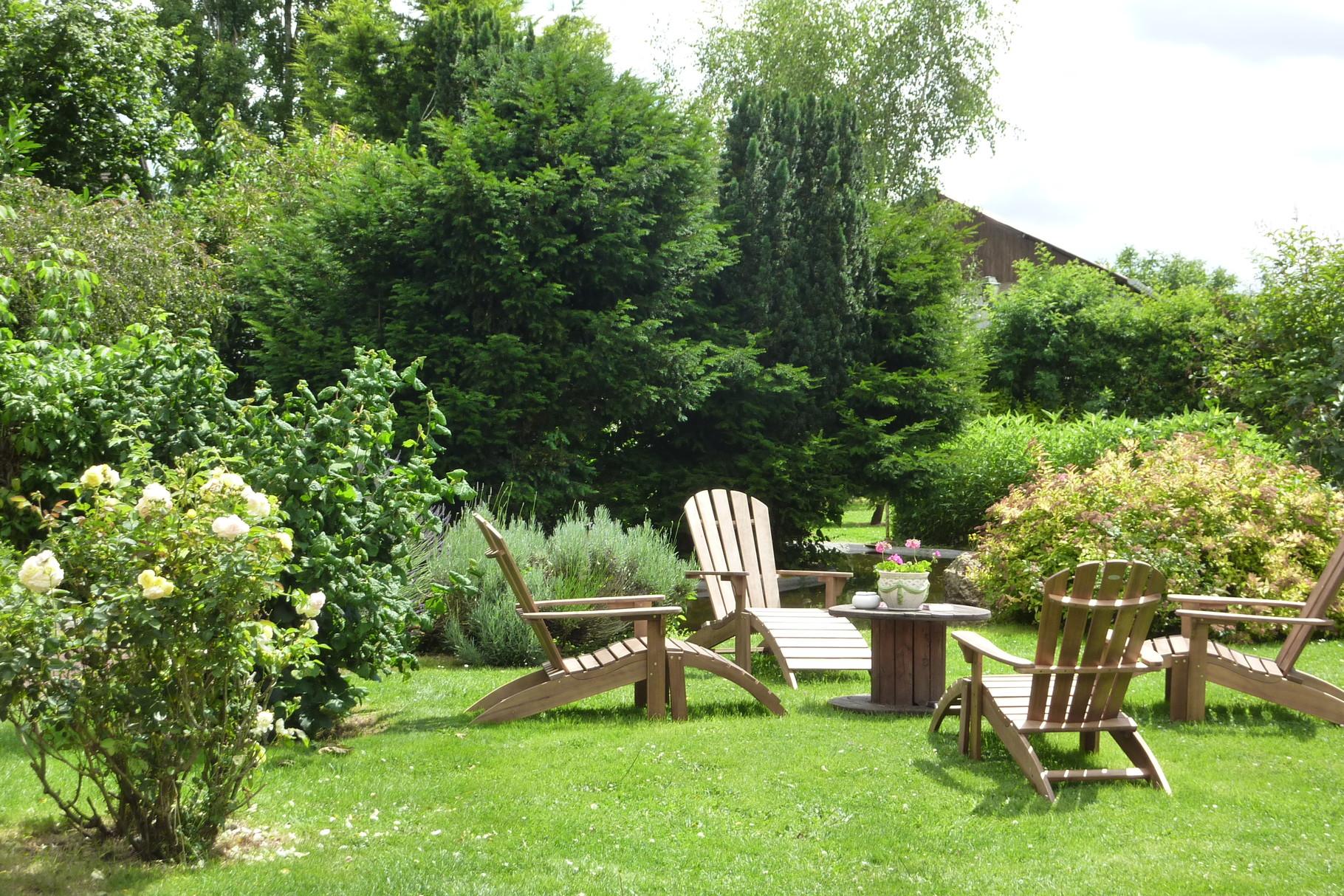 Le salon de jardin Haras le Vieux Clos
