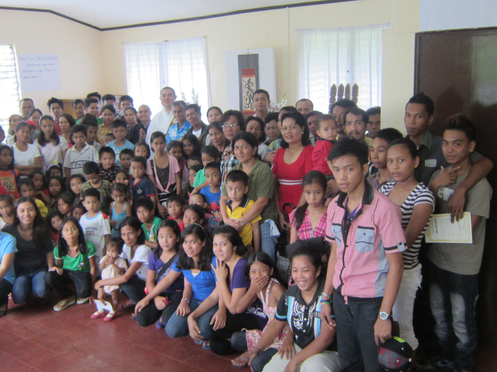 平成23年5月、フィリピン・ネグロス島にネグロス親会場が開場されました。