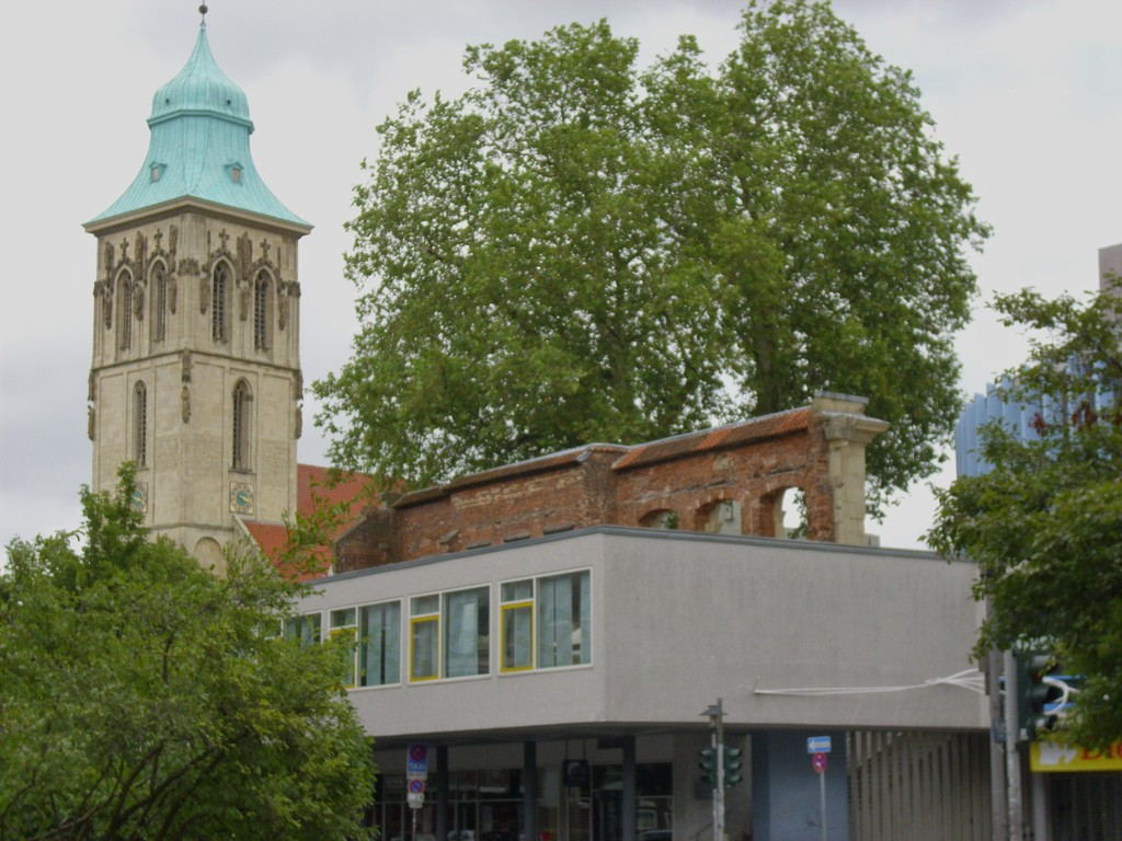 Martinikirche mit Theater , WK