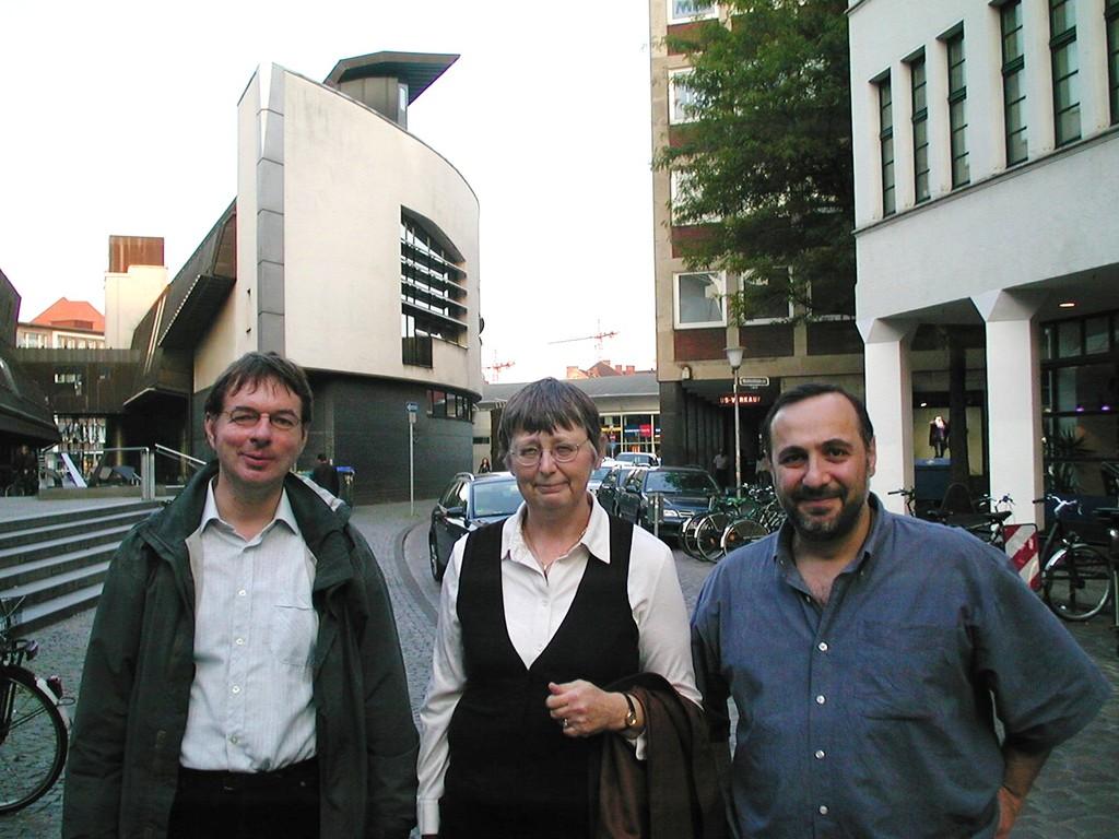 Lesung von Dato 2008 mit Dieter Radtke und Ingrid Henjes , WK