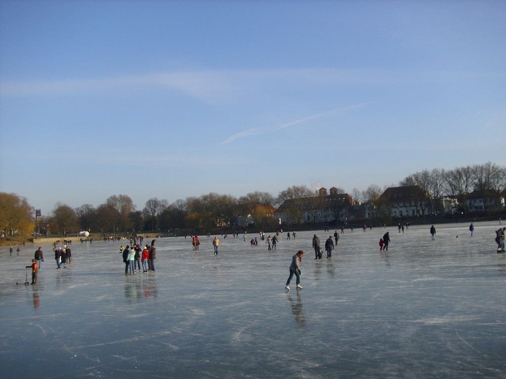 Am Aasee im Winter (2012), WK