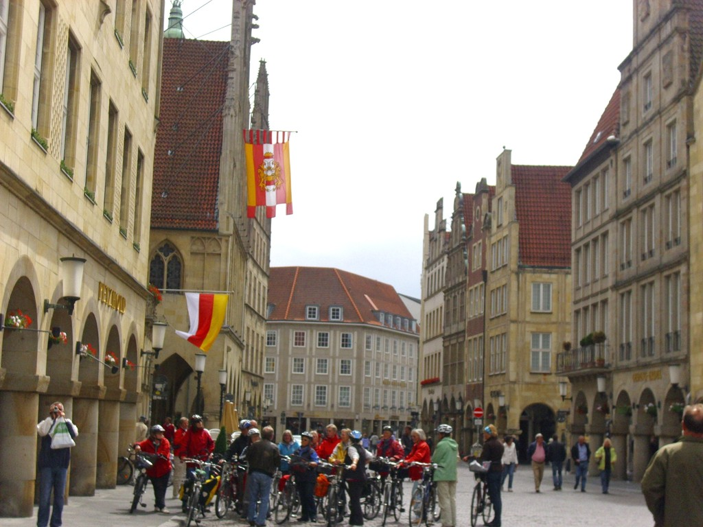 Fahrradstadtführung in Münster  , WK