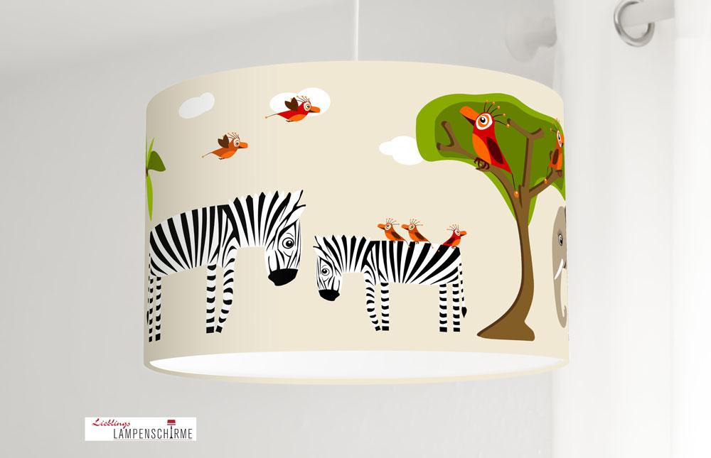 In Und Fürs Mit Aus Kinderzimmer Beige Lampe Safaritieren Baumwolle Babys Jasmundson BerdWCox
