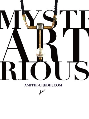 2014 FALL&WINTER  -MYSTERIOUS ART -AmitieCREDIR