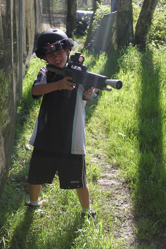 laser tag outdoor