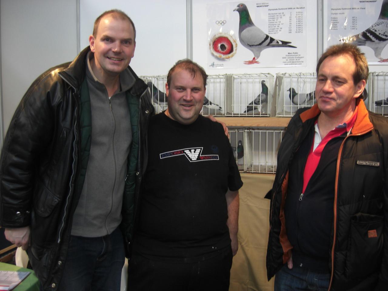 Einer der besten Weitstreckentauben-Züchter Belgiens und Freund von Oswin