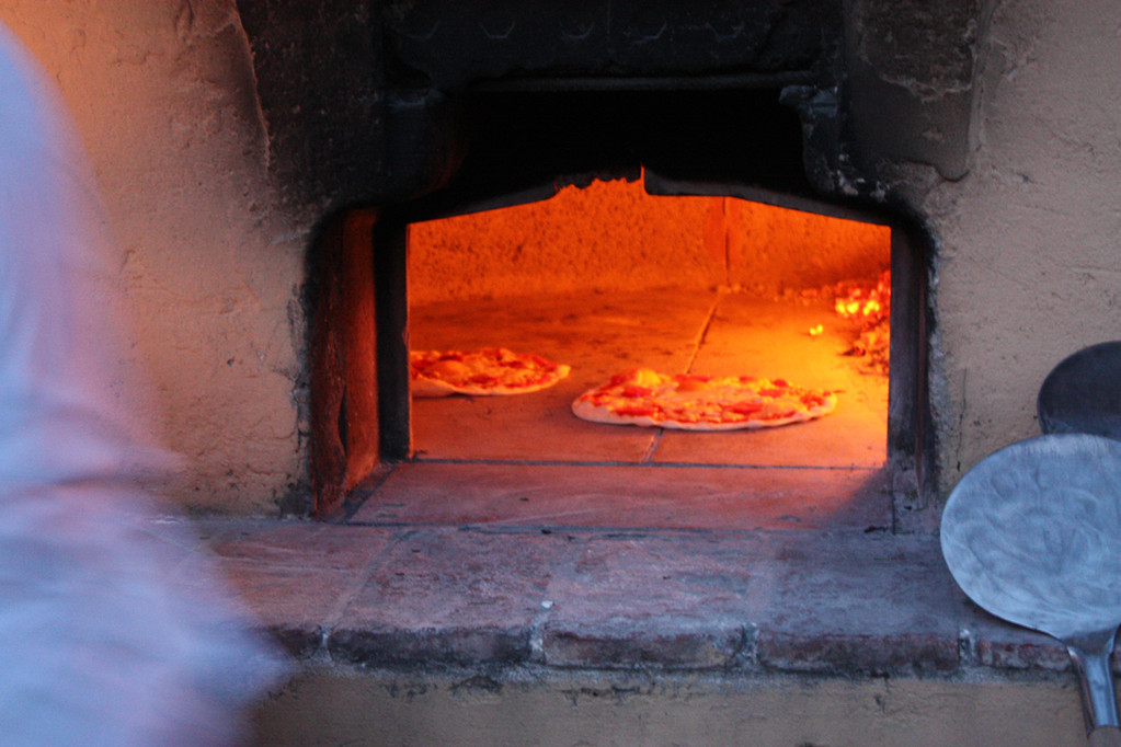 der Pizzaofen