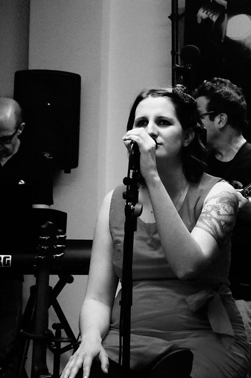 Laura chanteuse de Rockandco
