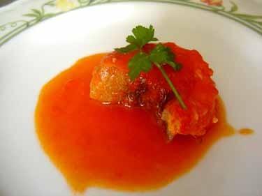 バッカラのトマト煮
