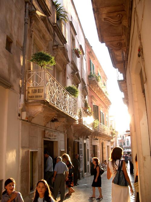 マルティナフランカの旧市街 Hitomi-Itoさん撮影