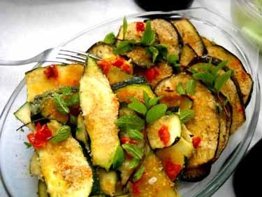 ズッキーニのオーブン焼き