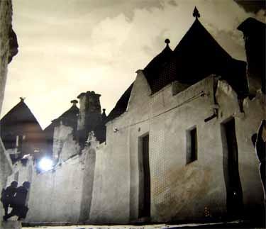 アルベロベッロの町の昔の写真
