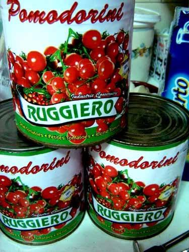 地元産のトマト缶
