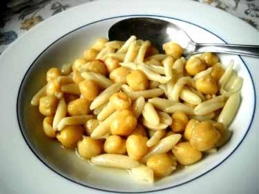 CECI(ひよこ豆)のカヴァテッリ