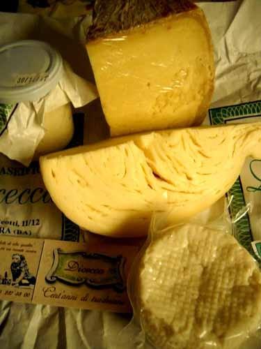 アルタムーラのカセイフィチオのチーズ
