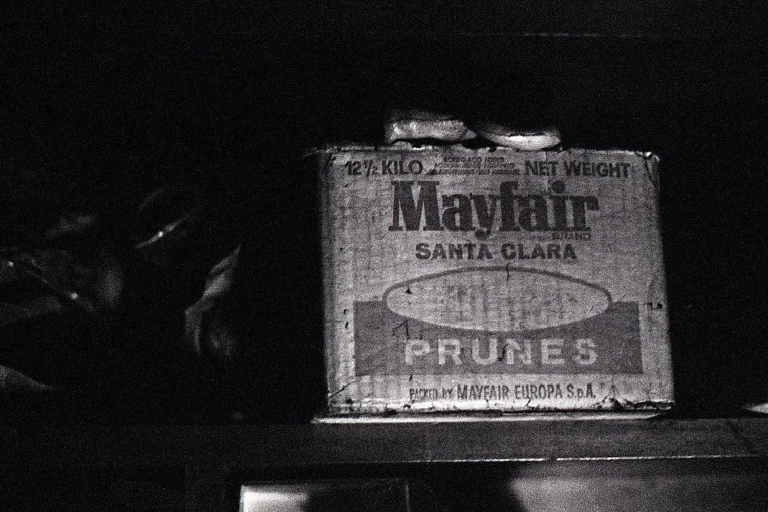 Mayfair box, Tirage argentique, 2013-2014